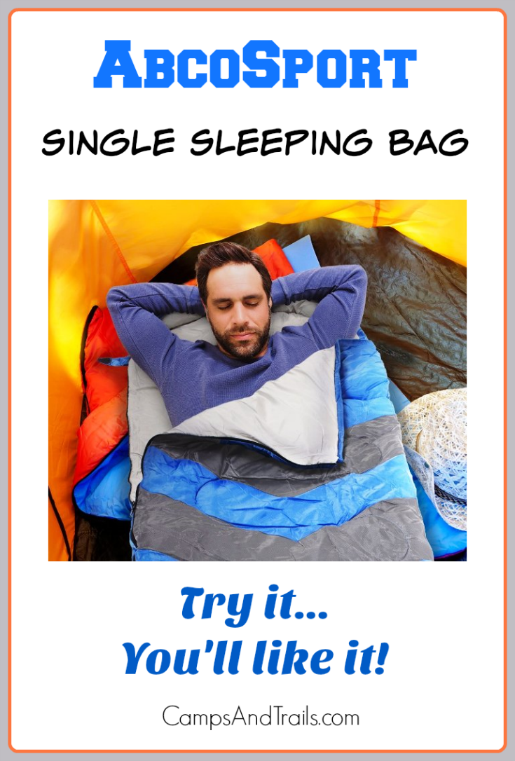 AbcoSport Single Sleeping Bag Review