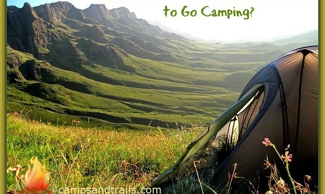 What is the best time of the year to go camping