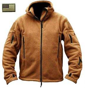 Men's Military Tactical Fleece Jacket