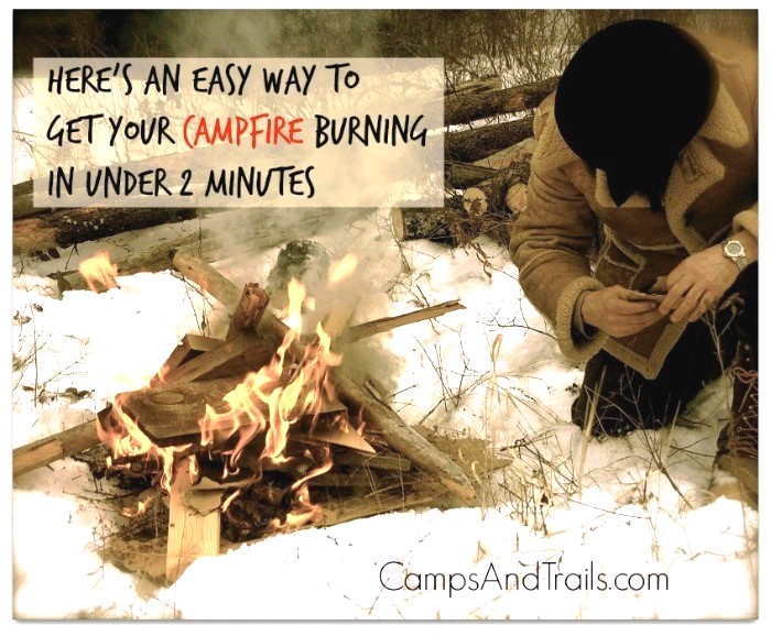 Best Way to Start a Campfire