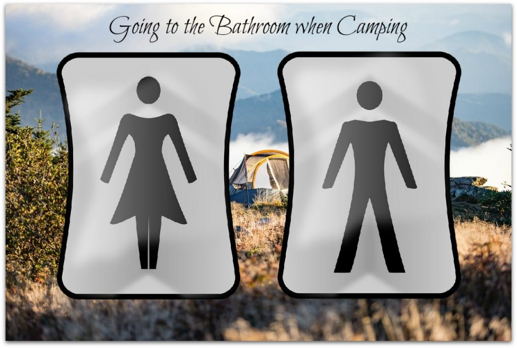 Go to the Bathroom when Camping