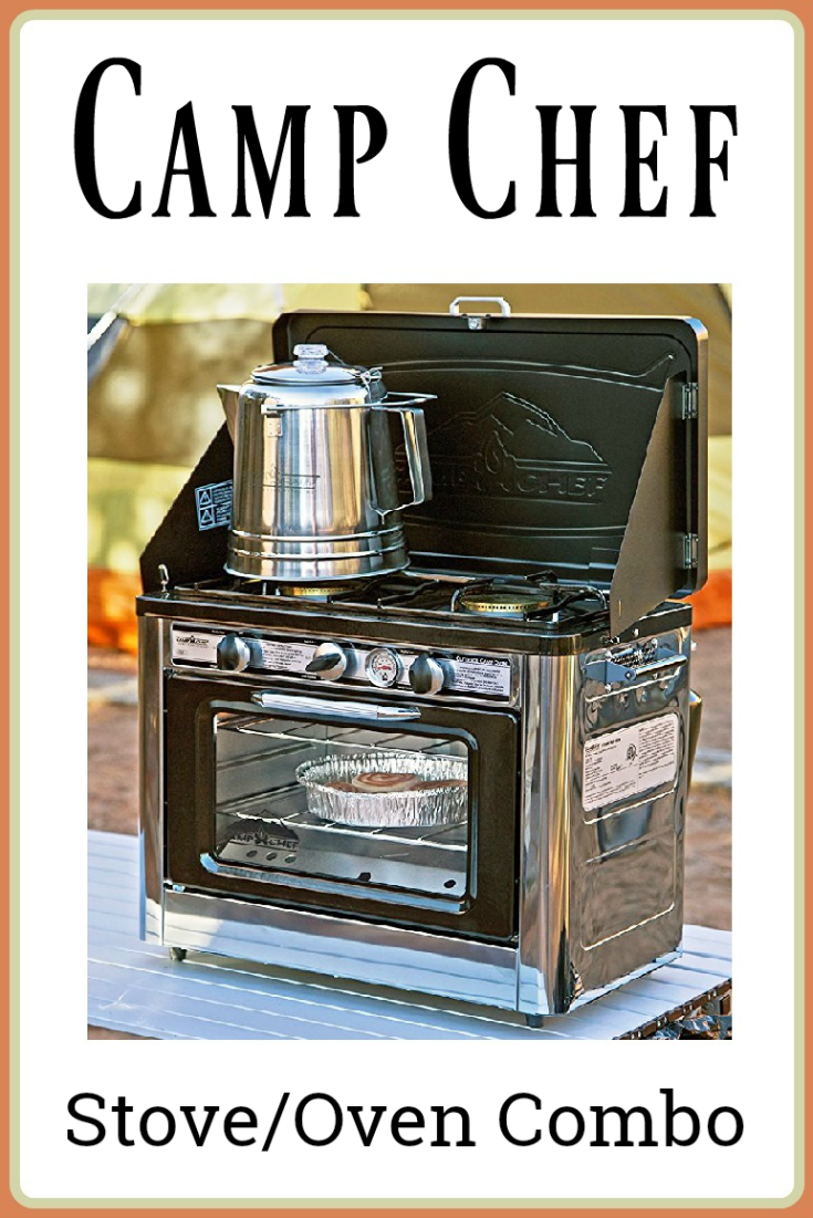Camp Chef Stove-Oven Combo