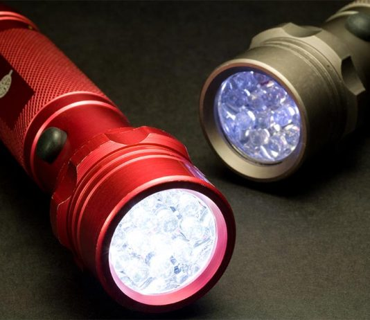 red led flashlights