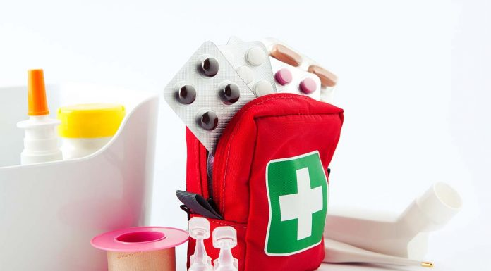 mini first-aid kits for home, camping, office